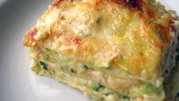 Lasagne with vegetables